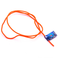 Гибкий холодный неон EL - 3,2мм (Оранжевый)