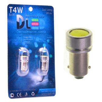 Светодиодная автолампа T4W BA9S - 1 HP 1Вт (Белый)