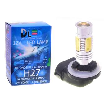 Светодиодная автолампа H27 881 - 4 HP Линза 6,5Вт