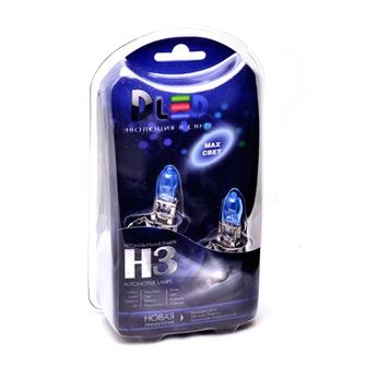 Газонаполненные автомобильные лампы H3 - DLED Evolution White 4300К 65Вт