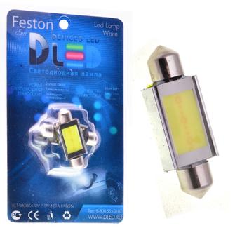 Салонная лампа C5W FEST 39мм - 1 HP 3Вт (Белая)