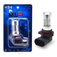 Светодиодная автолампа HB4 9006 - 8 CREE Линза 40Вт