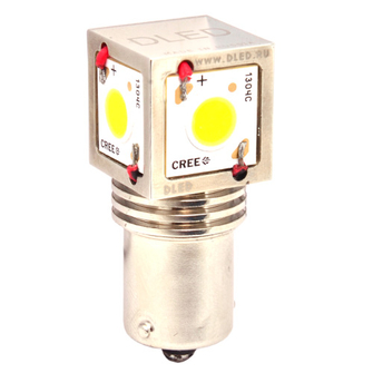 Светодиодная автолампа P21W 1156 - 4 CREE CXA 1304 40Вт (Белая)