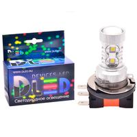 Светодиодная автолампа Н15 - 16 CREE-XB Линза 80Вт
