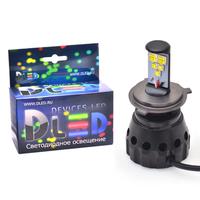 Светодиодная автолампа Н4 - 5 CREE HL 50Вт