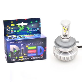 Светодиодная автолампа Н4 - 3 CREE MOTO 30Вт