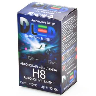 Галогеновая автомобильная лампа H8 35Вт