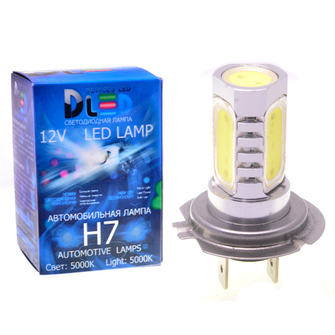 Светодиодная автолампа Н7 - 5 HP 6Вт