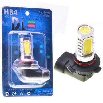 Светодиодная автолампа HB4 9006 - 4 HP 6Вт