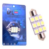 Салонная лампа C10W FEST 41мм - 6 SMD5050 2,6Вт (Белый)