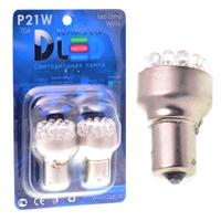 Светодиодная автолампа P21W 1156 - 19 Dip-Led 0,95Вт (Белая)