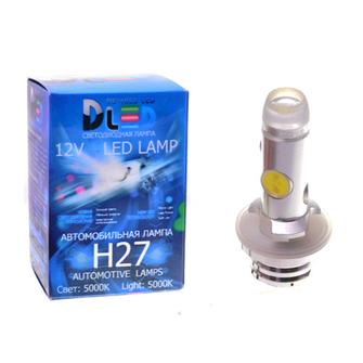 Светодиодная автолампа H27 881 - 4 HP Линза 6Вт