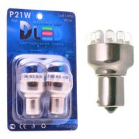 Светодиодная автолампа P21W 1156 - 12 Dip-Led 0,60Вт (Белая)