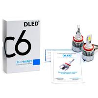 Светодиодная автолампа Н8 - DLED C-SIX 36Вт