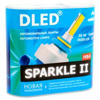 Светодиодная автолампа HB4 9006 - DLED Sparkle 2 36Вт