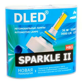 Светодиодная автолампа HB3 9005 - DLED Sparkle 2 36Вт