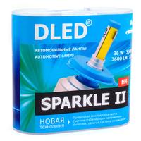 Светодиодная автолампа Н4 - DLED Sparkle 2 36Вт
