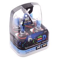 Газонаполненные автомобильные лампы H8 - DLED Рассвет 4500К 55Вт