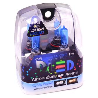 Газонаполненные автомобильные лампы HB3 - DLED Рассвет 4500К 55Вт