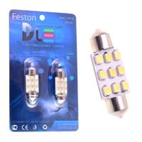 Салонная лампа C5W FEST 36мм - 9 SMD3528 0,72Вт (Белая)