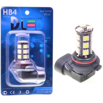 Светодиодная автолампа HB4 9006 - 18 SMD5050 Black 4,32Вт
