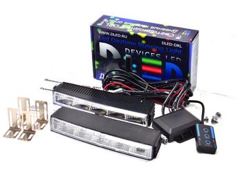 Дневные ходовые огни DRL-37 2x2,4W