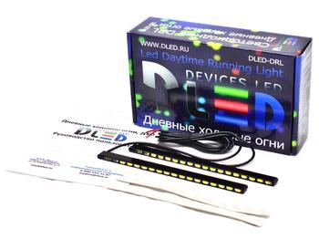 Дневные ходовые огни DRL-72 2x9W