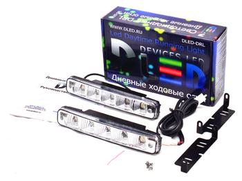 Дневные ходовые огни DRL-18 2x3W
