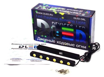 Дневные ходовые огни DRL-86 2x6W