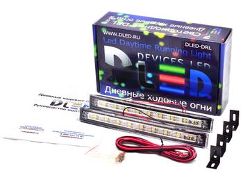 Дневные ходовые огни DRL-36 2x2,16W