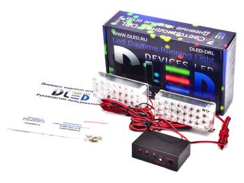 Дневные ходовые огни DRL-21 2x2W