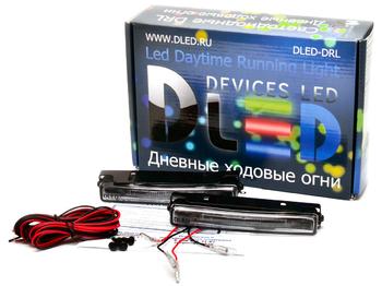 Дневные ходовые огни DLed DRL-125 SMD3528-5050 2x1W