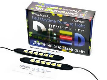 Дневные ходовые огни DRL-96 2x6W mini (гибкие)