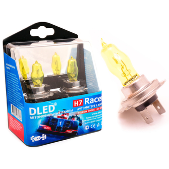Газонаполненные автомобильные лампы H7 - DLED Racer 3000К 85Вт