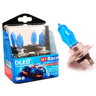 Газонаполненные автомобильные лампы H7 - DLED Racer 6500К 85Вт