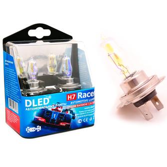Газонаполненные автомобильные лампы H7 - DLED Racer Rainbow 85Вт
