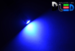 Автомобильная лампа T5 W1,2W - 1 HP 0,5Вт (Синяя)