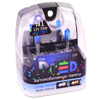 Газонаполненные автомобильные лампы H1 - DLED Рассвет 4500К 55Вт