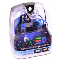 Газонаполненные автомобильные лампы H3 - DLED Рассвет 4500К 55Вт
