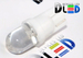Светодиодная автолампа W5W T10 - 1 DIP Капля 0,1Вт (Белый)