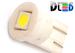 Светодиодная автолампа W5W T10 - 1 SMD5050 Керамическая 0,24Вт (Белый)