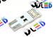 Светодиодная автолампа W5W T10 - 4 SMD5050 0,96Вт (Белый)