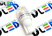 Светодиодная автолампа W5W T10 - 2 SMD5630 1Вт (Белый)