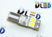 Светодиодная автолампа W5W T10 - 4 SMD5050 + Обманка 5Вт (Белый)