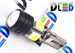 Светодиодная автолампа W5W T10 - HP + 4 SMD5050 Black 1,96Вт (Белый)