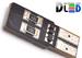 Светодиодная автолампа W5W T10 - 4 SMD5630 Односторонняя + Обманка 1,6Bт (Белый)