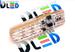 Светодиодная автолампа W5W T10 - 6 SMD5050 RGB 1,44Вт (Многоцветная)