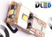 Светодиодная автолампа W5W T10 - 3 SMD2323 + Обманка 3Вт (Белый)