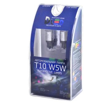 Светодиодная автолампа W5W T10 - 1 CREE + Обманка 3Вт (Белый)