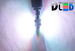 Светодиодная автолампа W5W T10 - 2 HP RGB 6Вт (Многоцветная)